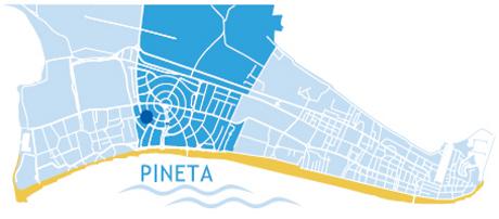 mapka - Hotel zenith